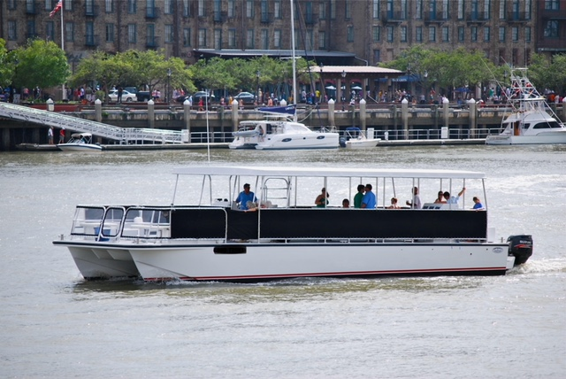 image of excursion boat